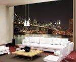 Fototapety w dekorowaniu mieszkania – elegancka, nowoczesna sypialnia