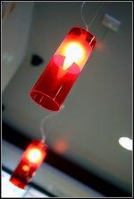 Możemy sobie pozwolić na nowoczesne lampy i meble.
